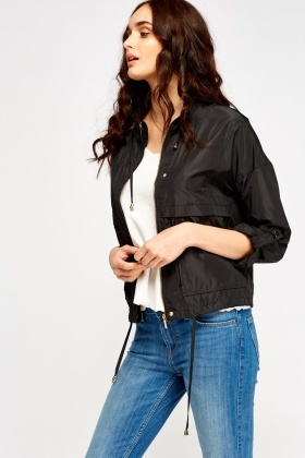 Waterproof Cropped Jacket