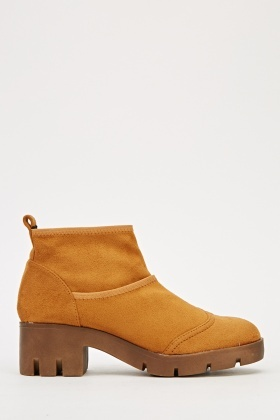 Suedette Ankle Boots