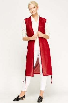 Duster Long Line Cardigan