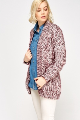 Pocket Front Eyelash Cardigan