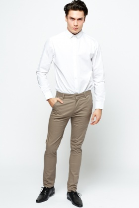 Skinny Fit Mens Trousers