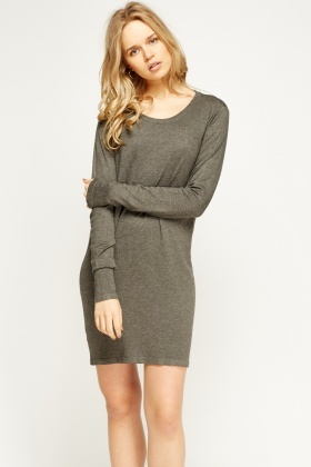 Thin Knit Jumper Dress