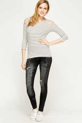 Studded Jeggings