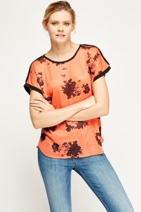 Printed Casual Top