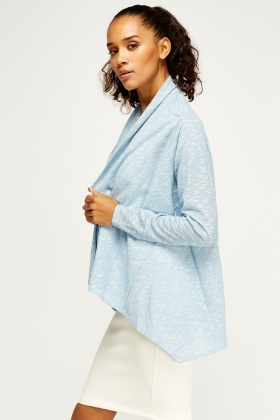 Sky Blue Waterfall Cardigan