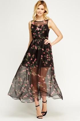 Sheer Maxi Dresses Maxi Dresses dressesss 3ca22b2d2b27