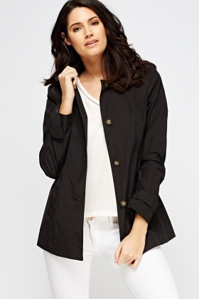 Casual Short Trench Coat