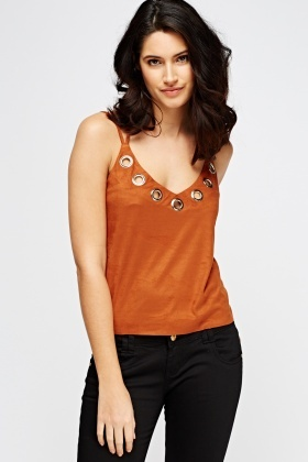 Detailed Cami Top