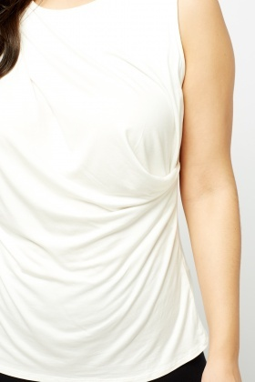 Basic Cream Tank Top