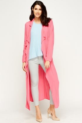 Flare Off White Long Cardigan