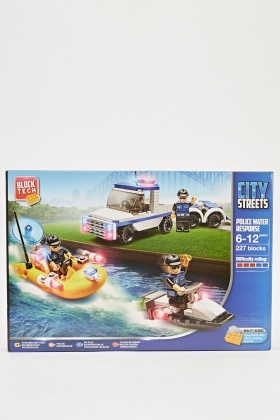 Kids Creativity Police Water Response