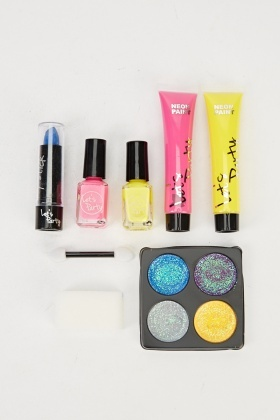 Neon Party Make - Up Set