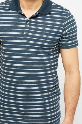 striped polo t shirt