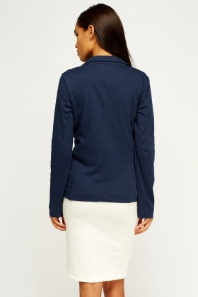Casual Lapel Front Jacket