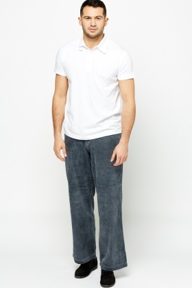 Wide Cord Trousers