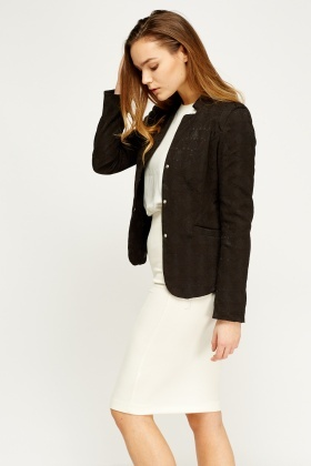 Textured Lined Jacket