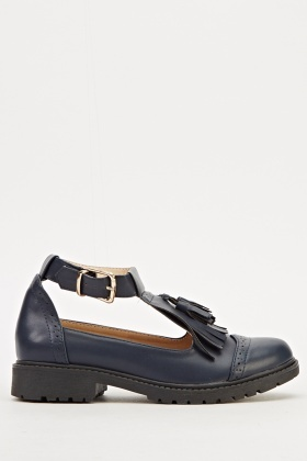 Cut Side Loafer Shoes