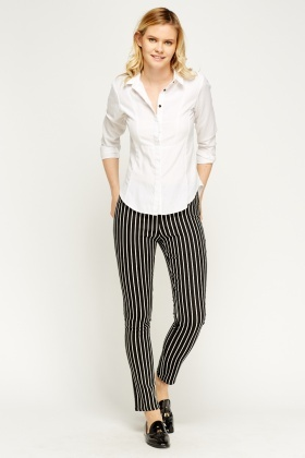 Mono Striped Trousers