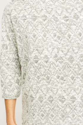 Printed Knitted Top
