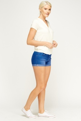 Mini Denim Shorts