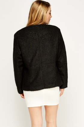 Bobble Knit Jacket