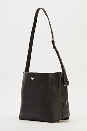 2 In 1 Faux Leather Bag - Just £5