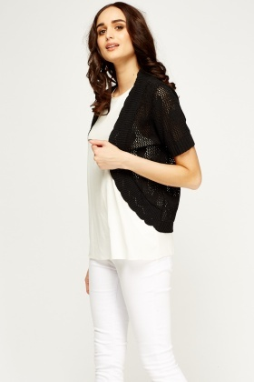 Heart Knitted Bolero