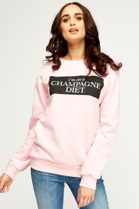 Logo Printed Basic Jumper
