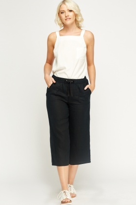 Linen Blend Light Weight Trousers
