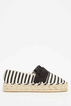 Espadrille Fringed Shoes