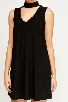 Choker Swing Dress