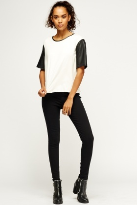 Black Basic Jeggings