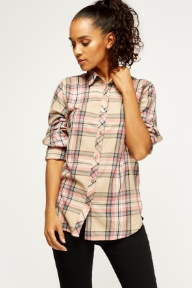 Check Grid Shirt
