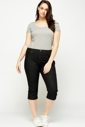 3/4 Charcoal Trousers