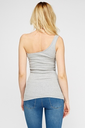 Pack Of 6 One Shoulder Top