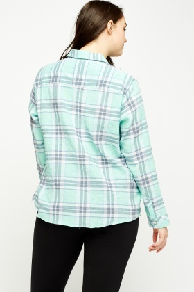 Check Grid Light Shirt