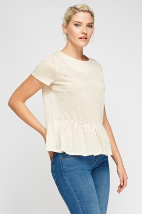 Flared Hem Top