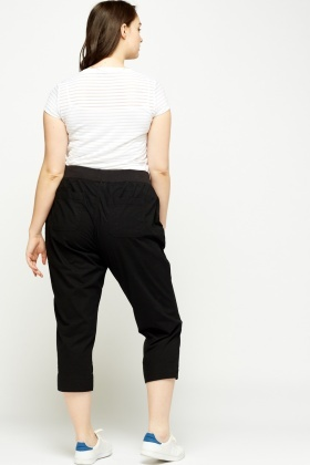 Light Weight Cropped Trousers