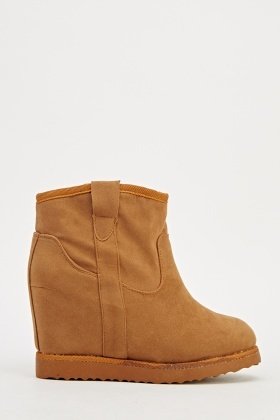 Wedge Ankle Winter Boots