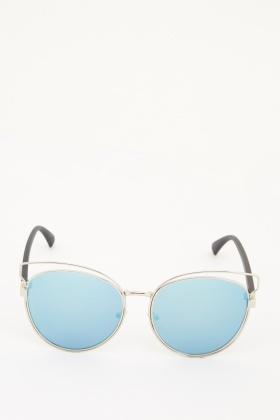 Clubmaster Frame Sunglasses
