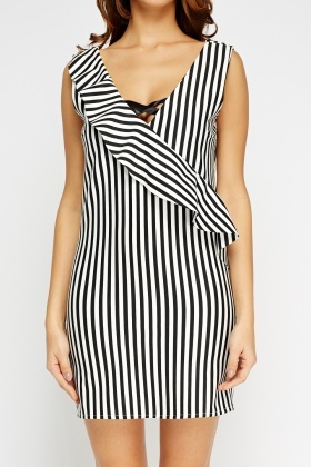 Ruffle Stripe Dress