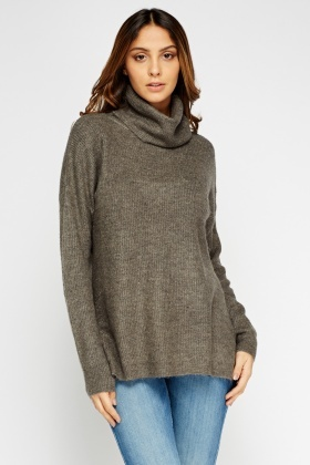 Soft Knit Turtle Neck Jumper