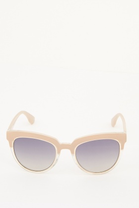 Two Tone Wayfarer Sunglasses