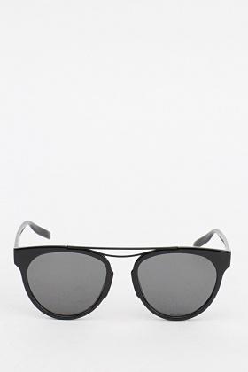 Mirrored Wayfarer Sunglasses