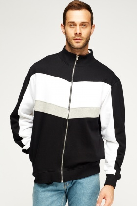 Mono Zipped Jumper