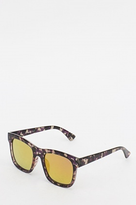 Multi Print Sunglasses