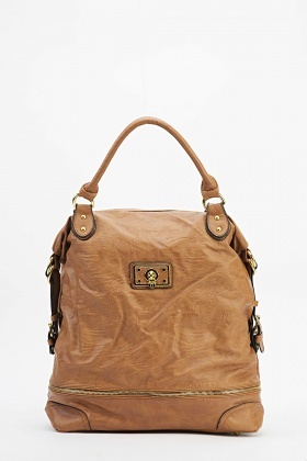 Golden Detailed Handbag