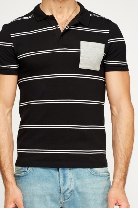 Striped Polo T-Shirt