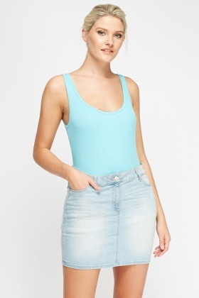 Pack Of 2 Ribbed Tank Top