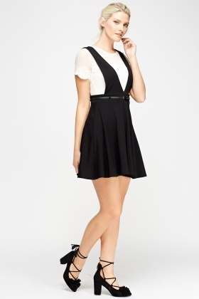 Pinafore Swing Dress